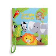 Jungle & Friends Soft Book - Nat & Jules