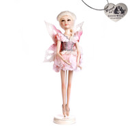 Pink Frozen Fairy Doll w/ Stand Goodwill