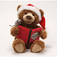 Storytime  Animated Plush Bear 33cm