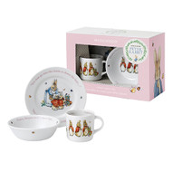 Wedgwood Peter Rabbit Girl 3 Piece Dinner Set