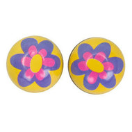 Trik Topz Valve Cap Purple Flower