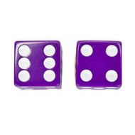 Trik Topz Valve Cap Purple Dice