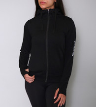 Signature Ultra Thick Mock-Neck Zip Up Hoodie