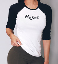 Rebel 3/4 Sleeve Raglan (Women's)