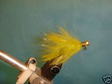 Rabbit Fur Steelhead Jig  Olive size 6  2ct