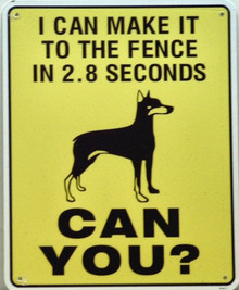 Photo of 2.8  SECONDS, CAN YOU MAKE IT TO THE FENCE THAT FAST?