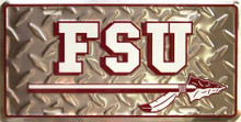 FSU SEMINOLES COLLEGE LICENSE PLATE