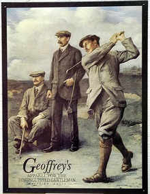 GEOFFREY'S GOLFERS SIGN