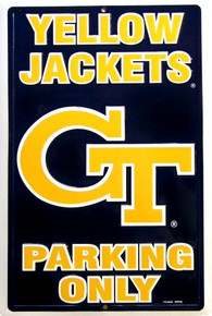 GEORGIA TECH COLLEGE SIGN