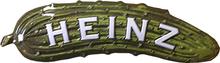 HEINZ PICKLE (DIE-CUT EMBOSSED)  3D SIGN