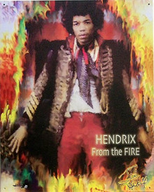 HENDRIX  OUT OF THE FIRE SIGN