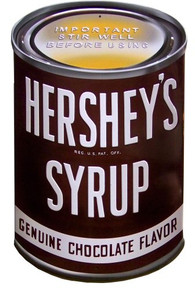 HERSHEY CAN EMBOSSED SIGN