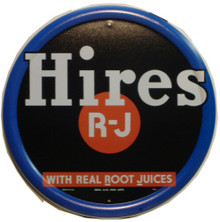 HIRES ROOT BEER SOFT DRINK SIGN