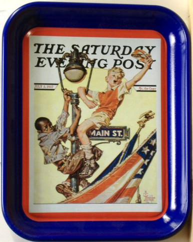 HURRAY FOR OLD GLORY METAL TRAY