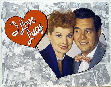I LOVE  LUCY TRIBUTE SIGN