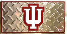 INDIANA HOOSIERS COLLEGE SIGN