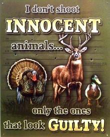 INNOCENT ANIMALS SIGN