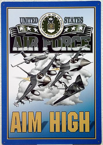 Photo of AIRFORCE POSTER GREAT SIGN FOR AIRMEN & AIRWOMEN