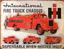 INTERNATIONAL FIRETRUCK CHASIS SIGN