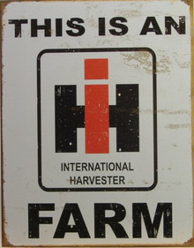 INTERNATIONAL HARVESTER SIGN
