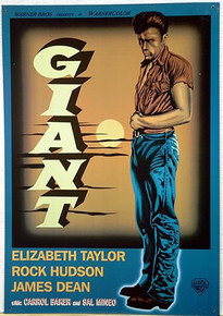 JAMES DEAN  GIANT MOVIE SIGN