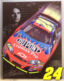 JEFF GORDON  24 SIGN NASCAR