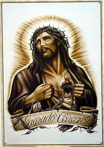 JESUS SACRED HEART SIGN