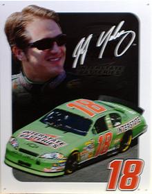 J.J. YELEY NASCAR SIGN