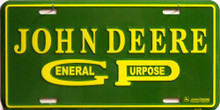JOHN DEERE GEN. PURPOSE TRACTOR SIGN