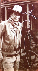 JOHN WAYNE SIGNATURE MOVIE SIGN