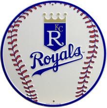 KANSAS CITY ROYALS BASEBALL SIGN