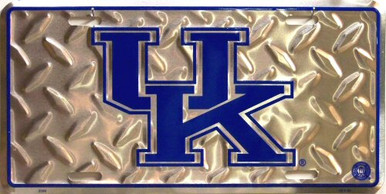 KENTUCKY WILDCATS COLLEGE LICENSE PLATE