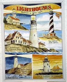 LIGHT HOUSES SIGN