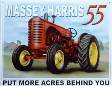 MASSEY-HARRIS TRACTOR SIGN