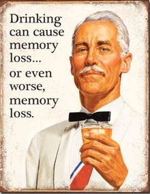 MEMORY LOSS SIGN