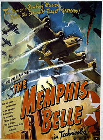 MEMPHIS BELLE MOVIE POSTER SIGN