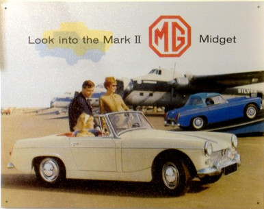MG MIDGET MARK 2 SIGN