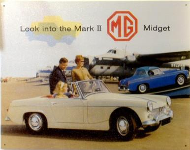 MG MIDGET MARK 2 SIGN