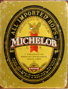 MICHELOB BEER LOGO SIGN