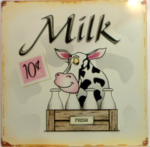 MILK FARM SIGN