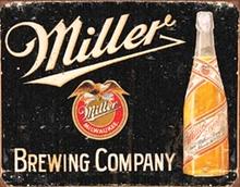 MILLER BREWING RETRO BEER SIGN