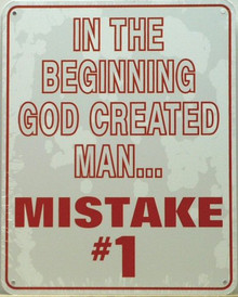 MISTAKE # 1 SIGN