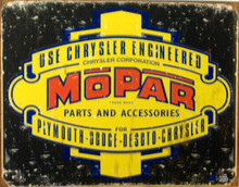 MOPAR LOGO '37 - '47 SIGN