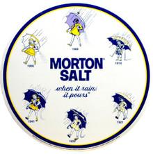 MORTON SALT ROUND LOGO'S SIGN