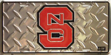Photo of NC STATE WOLF PACK COLLEGE LICENSE PLATE