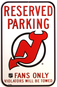 Photo of NEW JERSEY DEVILS RESERVED PARKING