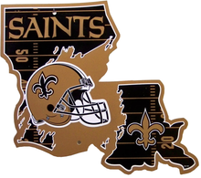 Photo of NEW ORLEANS SAINTS DIE CUT STATE