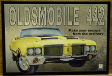 OLDSMOBILE 442 SIGN