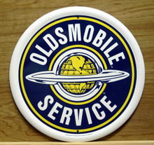 OLDSMOBILE SERVICE RND SIGN
