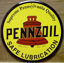 PENZOIL GAS SIGN